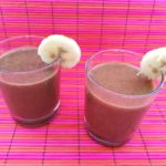 Banana and dates super smoothie